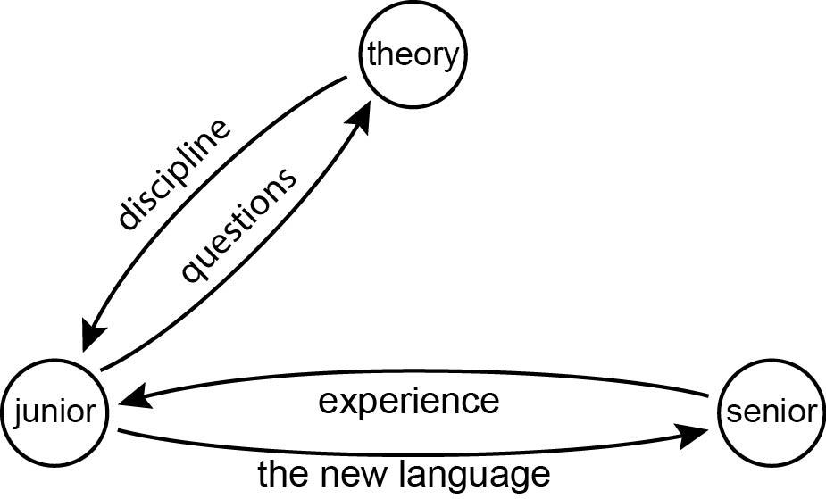 Discipline, questions, experience, language
